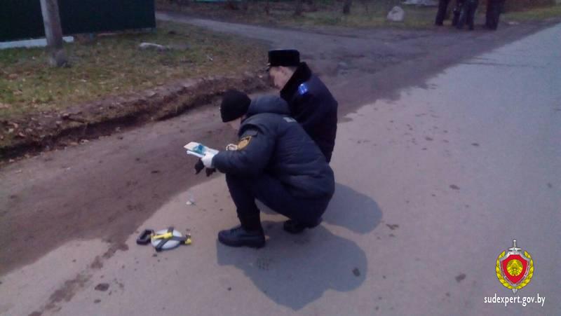 Мужчина пытался ограбить банк в Могилеве. Убегая, отстреливался и был ранен